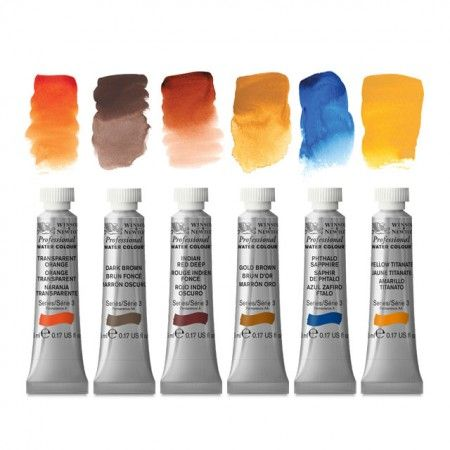 winsor newton artists watercolour 5ml tubes art material supplies